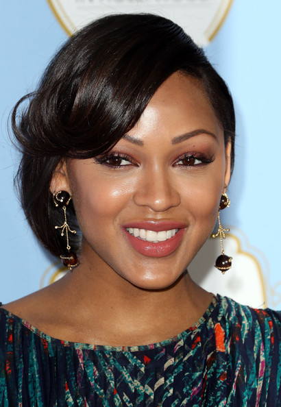 Actress Meagan Good attends the Sixth Annual ESSENCE Black Women In Hollywood Awards Luncheon at the Beverly Hills Hotel on February 21, 2013 in Beverly Hills
