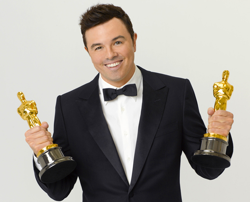 seth mcfarlane (with oscars)