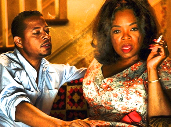 terrence howard & oprah (the butler)