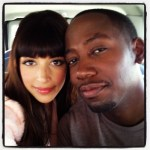 "Hanna Simone and Lamorne Morris of Fox's ""New Girl"""