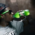lil wayne drinking mountian dew
