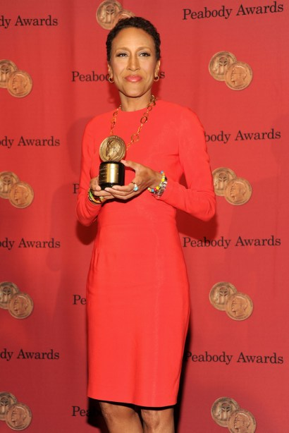 Robin Roberts attends 72nd Annual George Foster Peabody Awards at The Waldorf-Astoria on May 20, 2013 in New York City