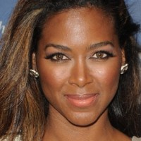 Kenya Moore Caught on Tape Taking Big Fall; Responds Like A Champ (Watch!)