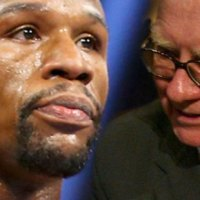 Buffett the Billionaire Disses 'Money' Mayweather Before Fight (Video)