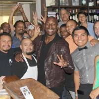 Tyrese Treats Fans to a Grand ($1K) of Food at Brad Johnson's Post & Beam (Pic)