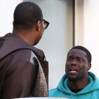 E.J. Johnson Clobbers Kevin Hart With his Purse (Pics)