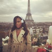 Look: Serena Williams and Her Cleavage Visit Paris