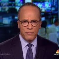 Lester Holt Back on 'NBC Nightly News' after Family Emergency
