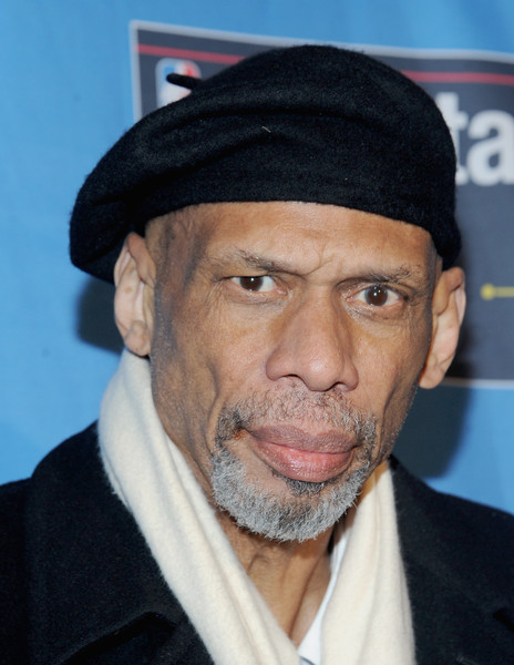 Kareem Abdul Jabbar attends The 64th NBA All-Star Game 2015 on February 15, 2015 in New York City.