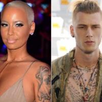 Machine Gun Kelly Confirms His Relationship with Amber Rose (Watch)