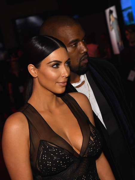 Honorees Kim Kardashian and Kanye West attend TIME 100 Gala, TIME's 100 Most Influential People In The World on April 21, 2015 in New York City