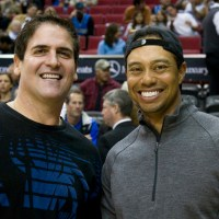 A Sad Tiger Woods Leaves Mark Cuban 'Dead Broke' at Tiger Jam
