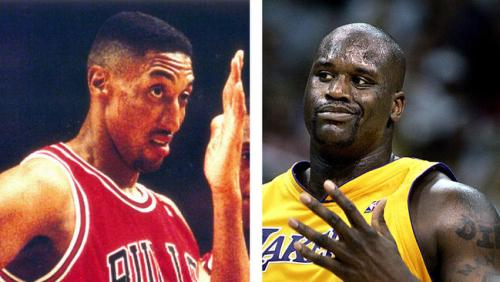 scottie pippen shaq