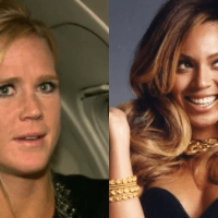 Holly Holm Asks Beyoncé 'What's Your Name?' in Awkward Vegas Moment