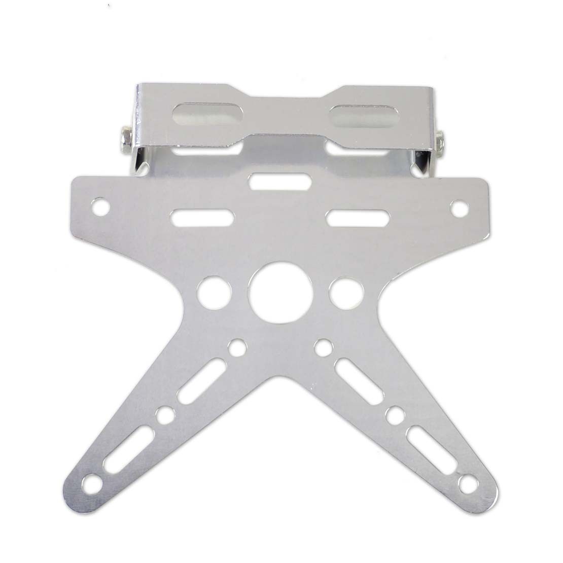 Adjustable Number License Plate Mount Holder Bracket