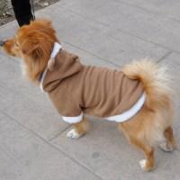 Reindeer Puppy Pet Dog Cat Costume Coat Hoodie Clothes ...