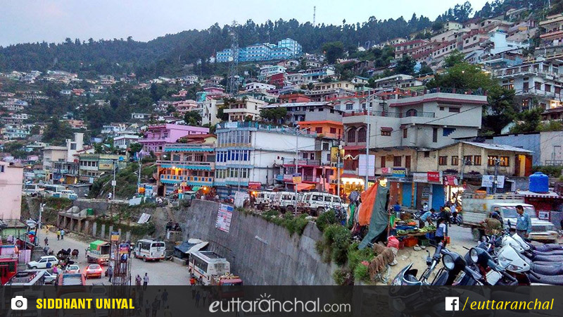 Himalaya Hd Wallpaper Pauri Bus Station And Taxi Stand Uttarakhand Pauri