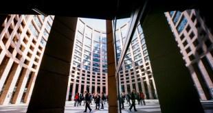 LOW building in Strasbourg at sunshine