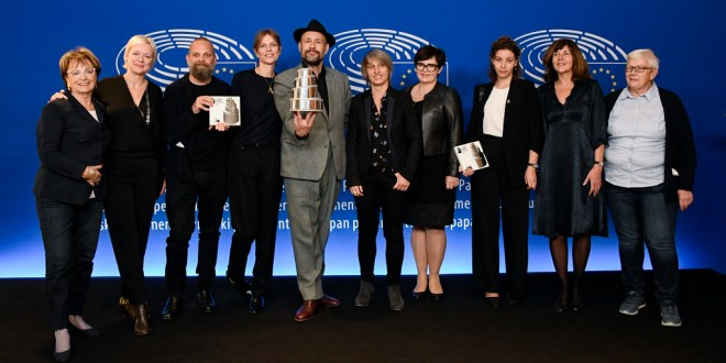 EP Plenary session - Lux Prize 2018 Family picture