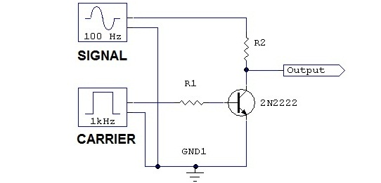 amplitude modulation circuit components