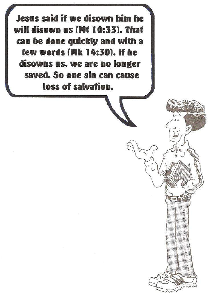 Can SALVATION Be Lost? Can You Lose Salvation?