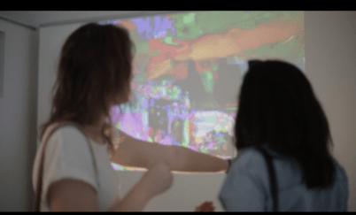 Interactive Glitch Installation, Electrofringe 2013, Evangeline Cachinero
