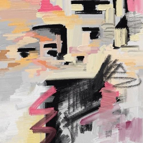 You ain't got nufink on him. #paintmunching #brisbaneart #australianart #glitchart #contemporaryart #contemporarypainting #painting #pink #design #fashion #art #samesame