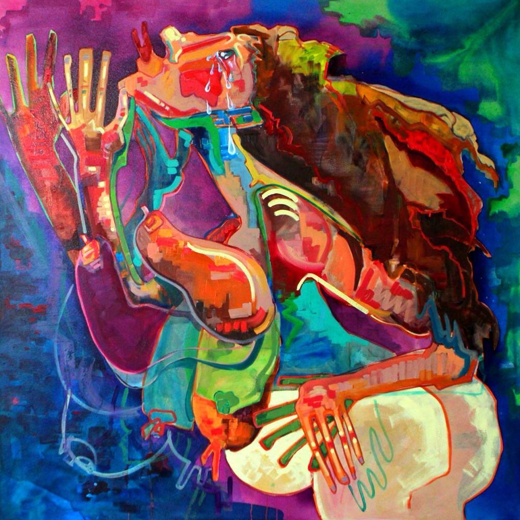 Archibald prize 2014 - evangeline cachinero