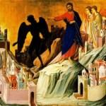 Comentario al evangelio de Marcos 1, 12-15 Primera semana de cuaresma. Tiempo de resistir y batir al enemigo. Audio mp3