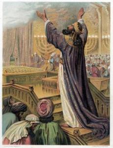 1a lect del 1er libro de los Reyes 8,41-43. Domingo 29 de Mayo de 2016.