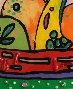 Fruit in Red Bowl - Evan Silberman NYC - 2