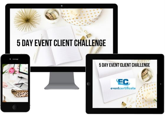 Find Event Planning Clients - EVENT PLANNING CERTIFICATE