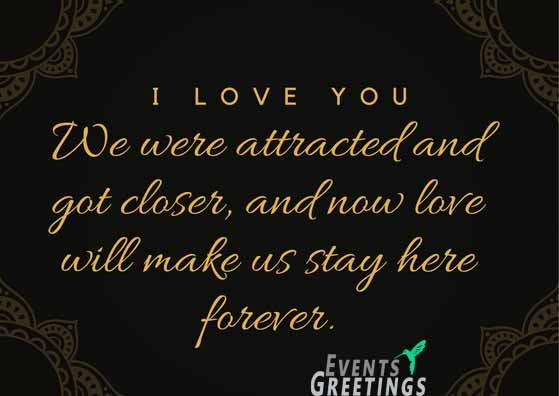 I Love You Messages For Girlfriend \u2013 Events Greetings