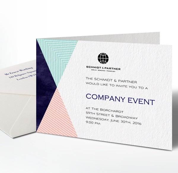 Online invitations and cards with guest management and check in services - invitation card event