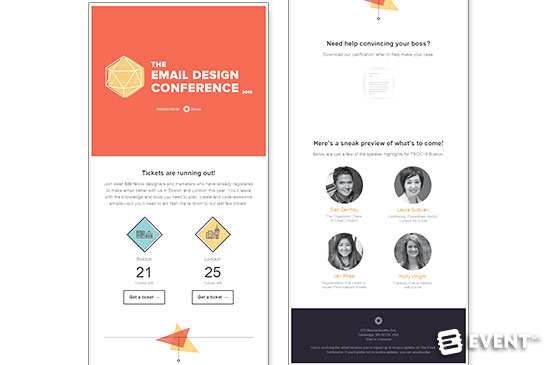 Event Email Templates and Designs that Convert into Attendees