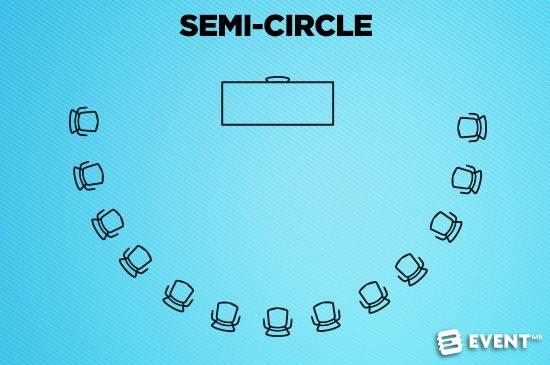 semi circle seating chart template