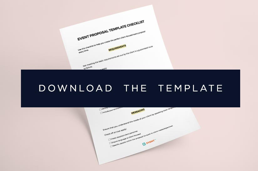 Event Proposals That Win Business The Ultimate Guide (2018 Edition) - free event proposal template