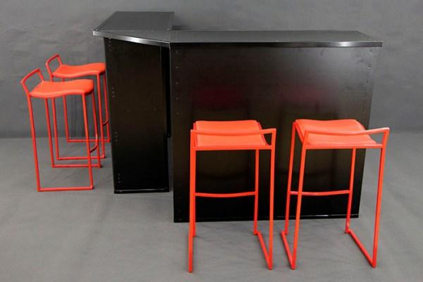 bartheke vip bar gruppe klein club eventmobilia. Black Bedroom Furniture Sets. Home Design Ideas