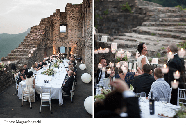location per matrimonio in ticino - castello di morcote