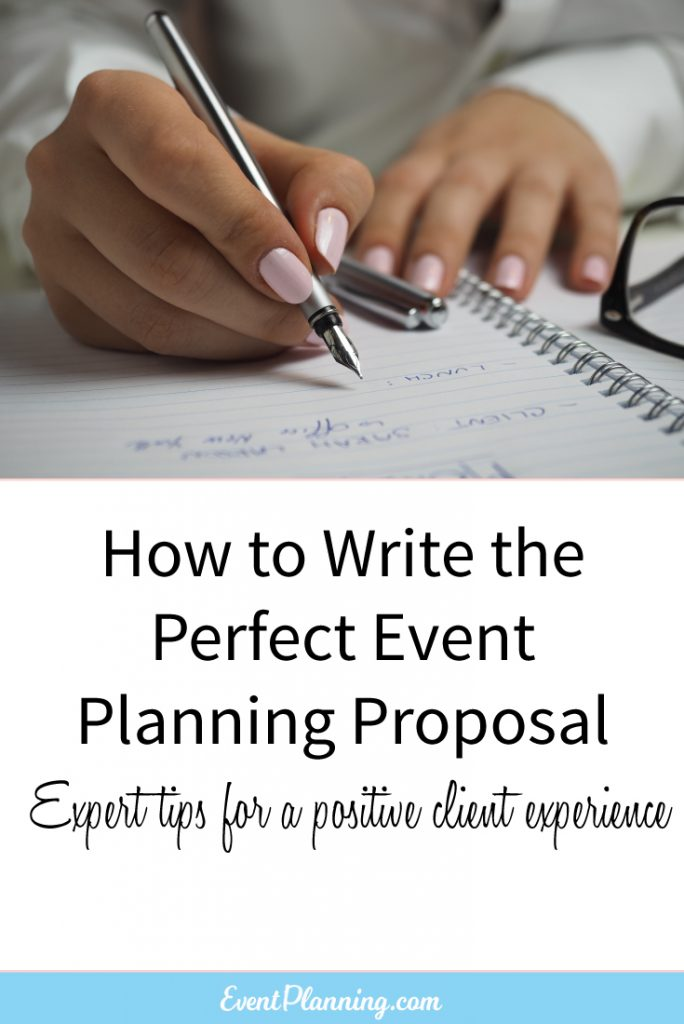 How to Write an Event Planning Proposal - EventPlanning - How To Write An Event Proposal