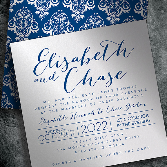 EventPrints offers designer crafted wedding invitations unlike
