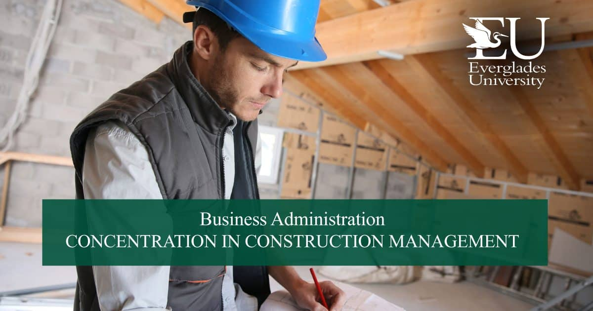 MBA in Construction Management - Everglades University