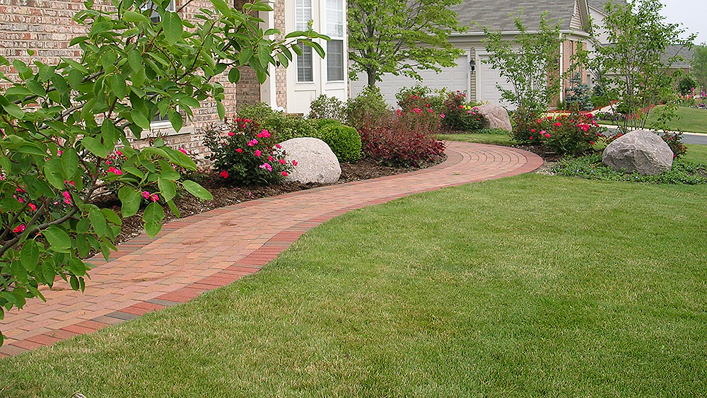 Lawn  Landscape Maintenance Archives - Evergreen Landscape - sample lawn and garden