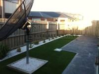 L15 - Plain Concrete with Synthetic Grass - Everlast Services