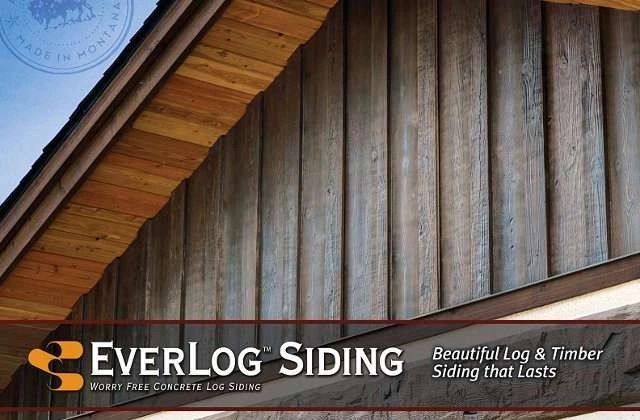 Everlog Concrete Log Siding By Everlog Systems