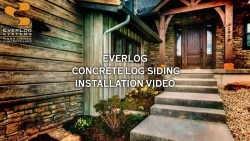 Soulful Everlog Siding Installation Video Everlog Concrete Log Siding By Everlog Systems Vinyl Log Siding Manufacturers Vinyl Log Siding Ebay