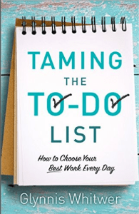 Taming the To-Do List Book Cover