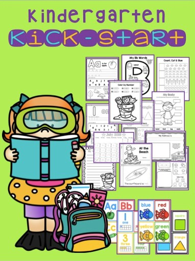Kindergarten Kickstart Cover PAge