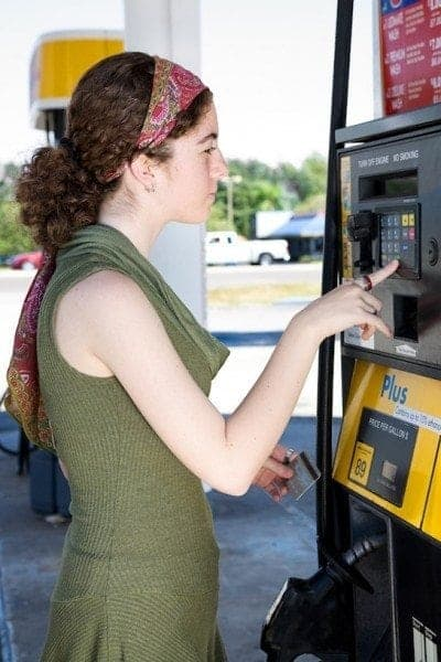 Paying For Gas