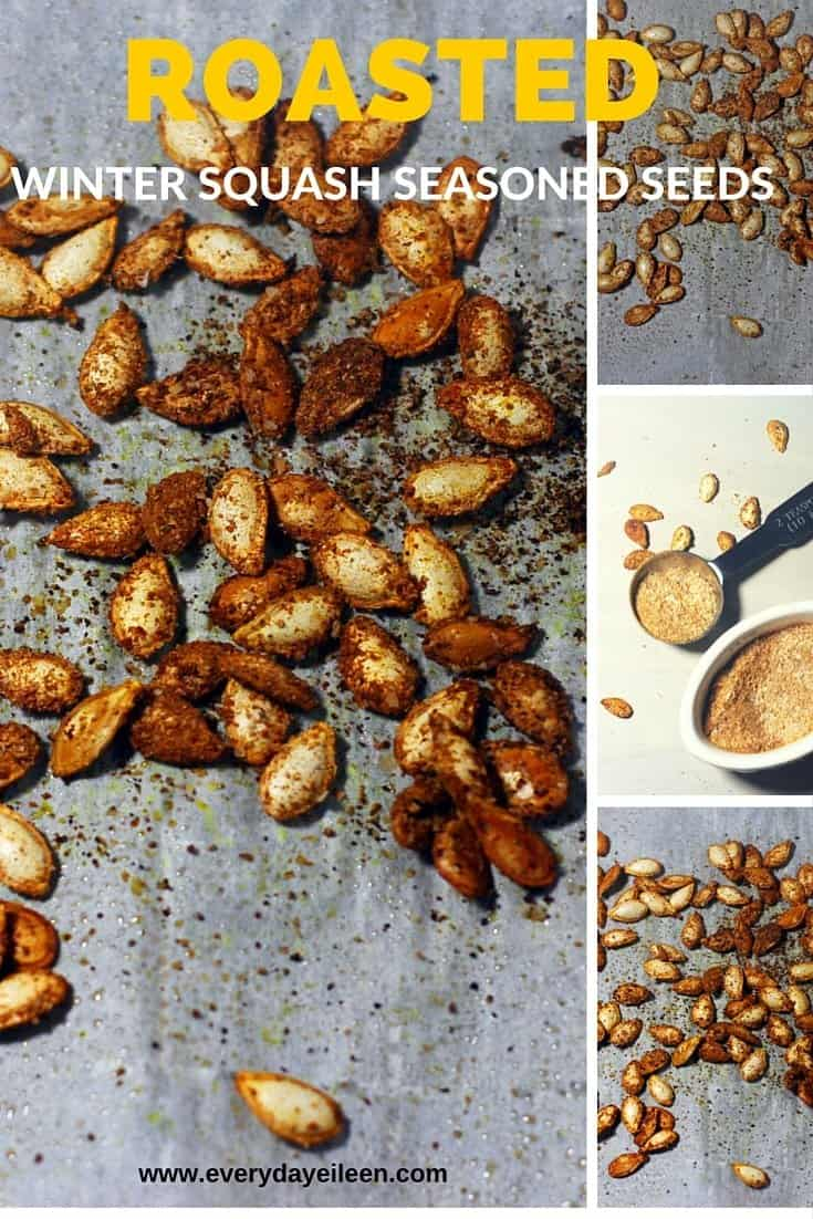 how to cook squash seeds